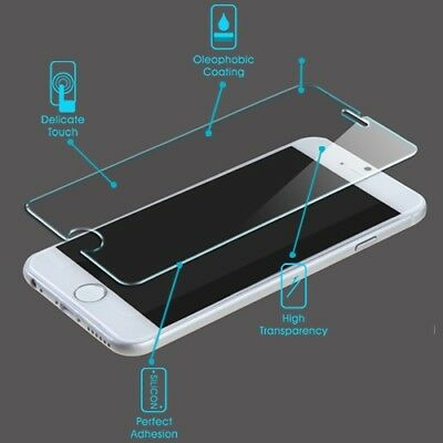 For iPhone 6 / 6s Plus Bubble Free Tempered Glass Premium Screen Protector Cover