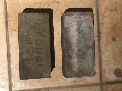 Antique Brick Laurel Indianola Mississippi Stamped Clay