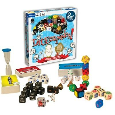 Dicecapes 2nd Edition Dice Game Teacher Resource Language Literacy Learning