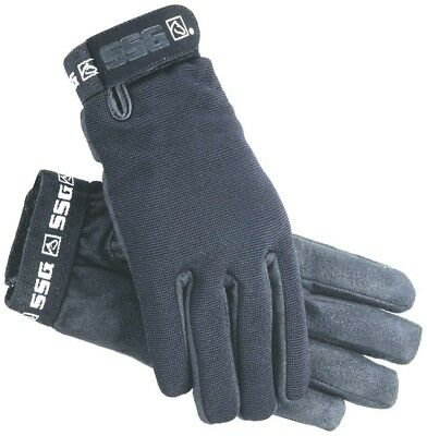 (Ladies Large 7.5/8) - SSG Gloves Women's 9000 All Weather Lined Riding Gloves