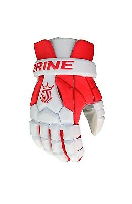 (36cm , Red/White) - Brine King Superlight III Gloves. Delivery is Free