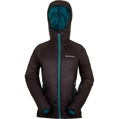 (X-Small, Black/Blue) - Montane Women's Prism Jacket. Delivery is Free