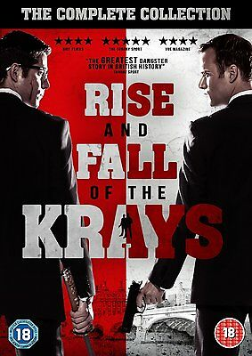 The Rise And Fall Of The Krays - 2 Movies / Films Dvd New