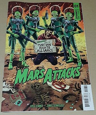Mars Attacks #01 2018 Eoin Marron Variant new release.