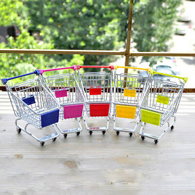EG_ Mini Lovely Cart Trolley Small Pet Bird Parrot Rabbit Hamster Cage Play Toy