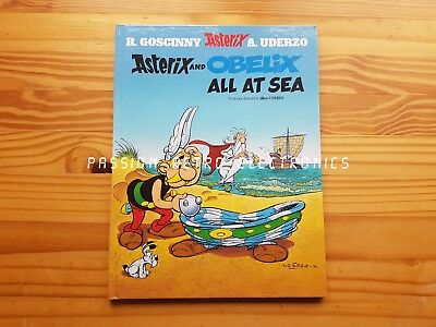 Asterix and Obelix All at Sea by Rene Goscinny Hardcover