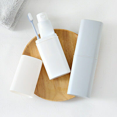 EG_ LK_ Portable Toothbrush Case Cover Toothpaste Holder Storage Organizer Box R