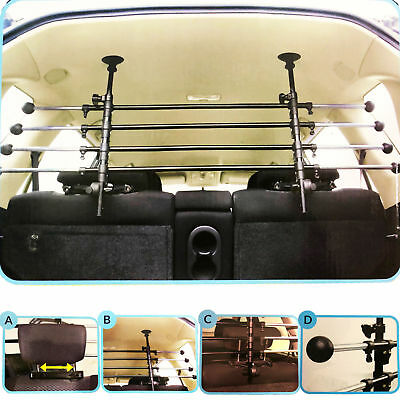 Deluxe Adjustable Dog / Pet Guard For Chevrolet Spin 2012-2016