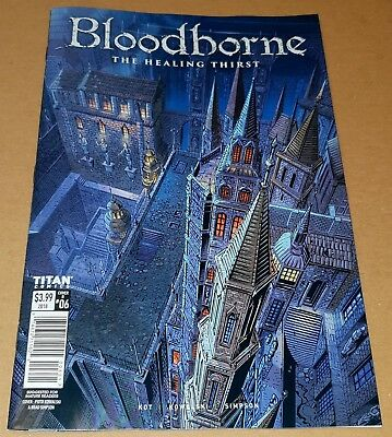 Bloodborne The Healing Thirst #06 Kowalski & Simpson cover. New release NM.