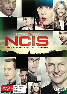 NCIS : Season 15 (DVD, 2018, 6-Disc Set) Brand New Sealed Region 4
