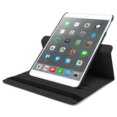 Funda Carcasa Tablet Para Ipad 2 3 4 Giratoria 360º Color Negro