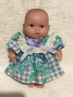 BERENGUER Baby Soft Vinyl Doll Toy 20cm Tall Excellent Condition