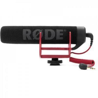 RODE VideoMic  GO Lightweight On-Camera Microphone Requires 2.5V Camera Plug-in