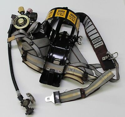 MSA Ultralite II Air Mask Backpack Harness Carrier Holder Free Shipping