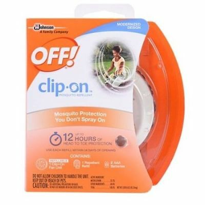 OFF! Clip On Mosquito Repellent Fan Unit 1 ea ( Pack of 1 )