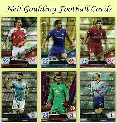 Match Attax ULTIMATE 2018-2019 ☆☆☆ CAPTAINS/ONE-CLUB/LEGENDS/SKETCH/PL ELITE ☆☆☆