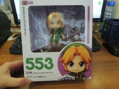 Nendoroid The Legend of Zelda Link Majora's Mask 3D Ver. 553 PVC Action Figure