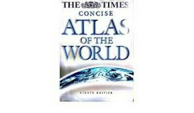 The Times Concise Atlas of the World - Very Good Book