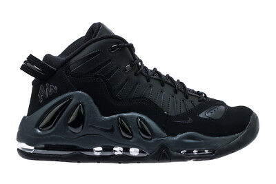 NIKE AIR MAX UPTEMPO 97 TRIPLE BLACK sizes 8 14 *BRAND NEW IN BOX*