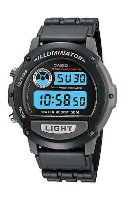 Casio Men's Quartz Black Resin Sport 42mm Watch W87H-1V