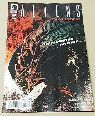 Aliens Dust to Dust #3. New release and NM