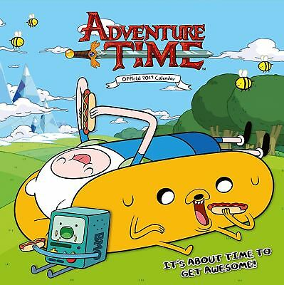 Adventure Time Official 2019 Wall Calendar Square New & Sealed
