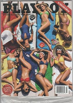 Playboy July/August 2015 Factory Sealed *Buy 20 Mags Get Free Shipping*