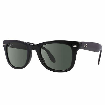 3cd5d87abd2 ... clearance ray ban rb4105 wayfarer folding classic sunglasses black  green classic 50mm acb6a e4252