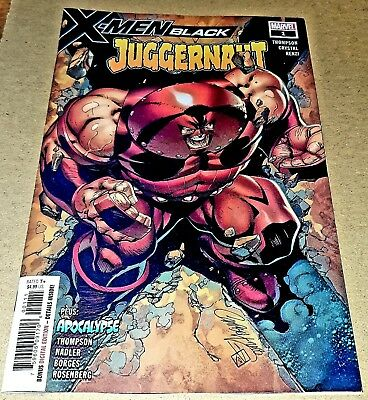 X-Men Black Juggernaut #1new release and NM. J Scott Campbell cover art.