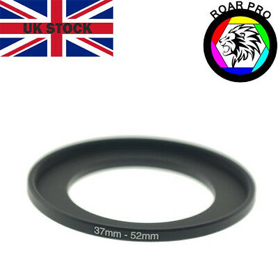37-52mm Stepping Step-Up Ring Filter Adaptor 37mm to 52mm