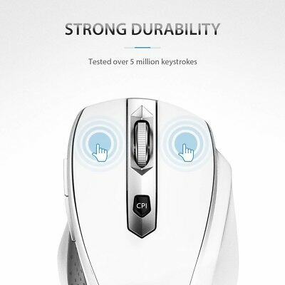 VicTsing MM057 24G Wireless Portable Mobile Mouse Optical Mice with USB Receiver