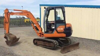 Hitachi Ex30-2 Service Workshop Manual  On Cd Or Download