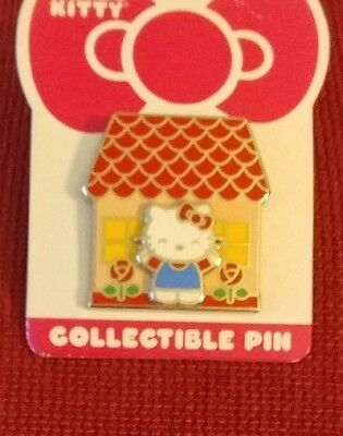 New Hello Kitty in front of House 3D Pin