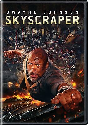 Skyscraper (DVD, 2018) Dwayne Johnson brand new and sealed free shipping