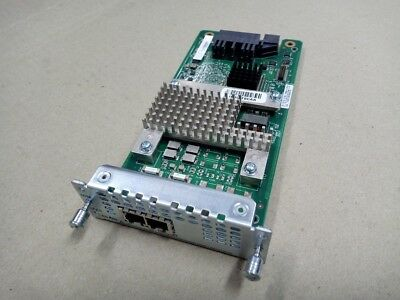 Cisco NIM-2FXS 2-Port Network Interface Module for ISR 4321 4331 4351 4431