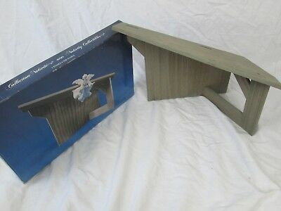 Avon Nativity Collectibles The Stable 1986 With Box