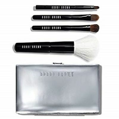 Bobbi Brown Mini Brush Set 5 Piece Set New In Box 100% Authentic