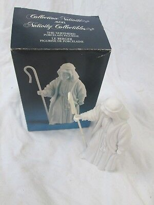 Avon Nativity Collectibles The Shepherd Porcelain Figurine 1983 With Box