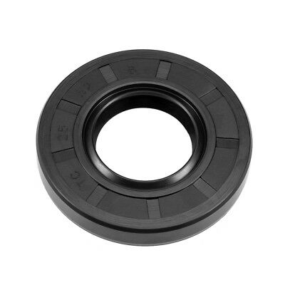 Oil Seal, TC 25mm x 52mm x 8mm, Nitrile Rubber Cover Double Lip