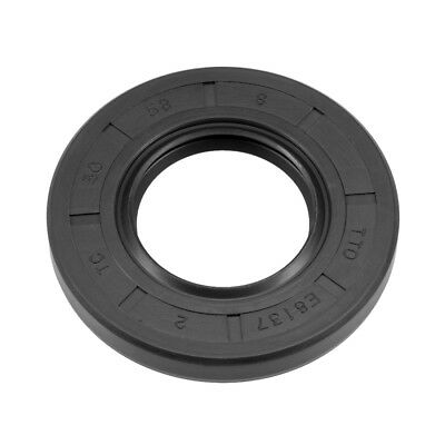 Oil Seal, TC 30mm x 58mm x 8mm, Nitrile Rubber Cover Double Lip