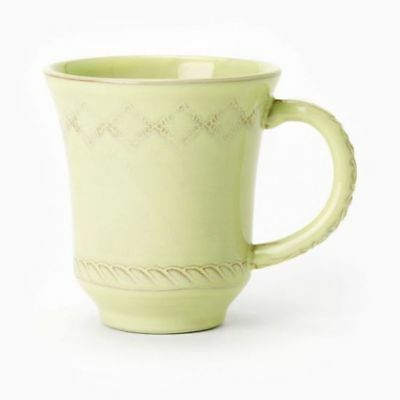 Vietri Bellezza Celadon Mug Handmade Made in Italy NEW BZA-2610CE