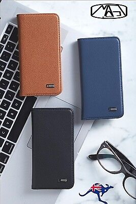 Premium Real Leather Wallet Case Flip Cover For Apple iPhoneX iPhone X XS MAX XS