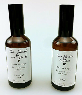 Lot of 2 -Maison Jacynthe Floral Water 100ml - NEW