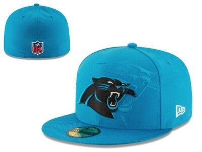 new style e8b1e ef7c9 New NWT Carolina Panthers New Era NFL Sideline Official 59Fifty 7 3 8 Cap  Hat