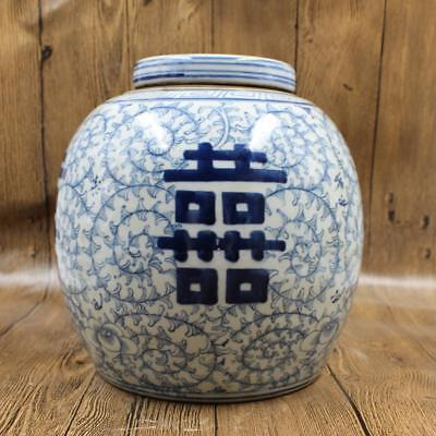 Ancient Chinese blue and white porcelain, plum blossom tea pot.