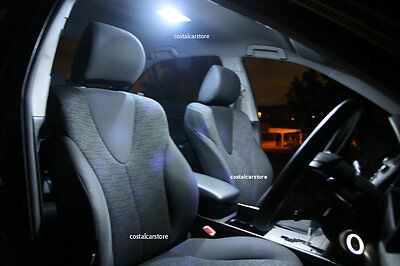 Super Bright White LED Interior Light Kit for Toyota Tarago ACR30R 2000 - 2006