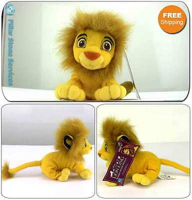 2002 Disney Lion King Adult Simba With Mane Bean Bag Plush By Hasbro WITH TAG