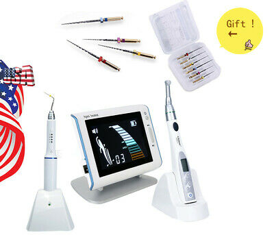 Dental Wireless 16:1 Mini Endo Motor/ Apex Locator/ Gutta Percha Heated Pen JISS
