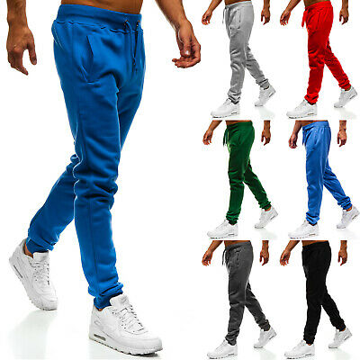 Trainingshose Sporthose Jogginghose Fitness Slim Fit Herren BOLF 6F6 Basic