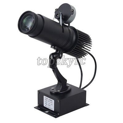 15W Static Logo Projector Custom Text Advertising Light Store Party Disco KTV